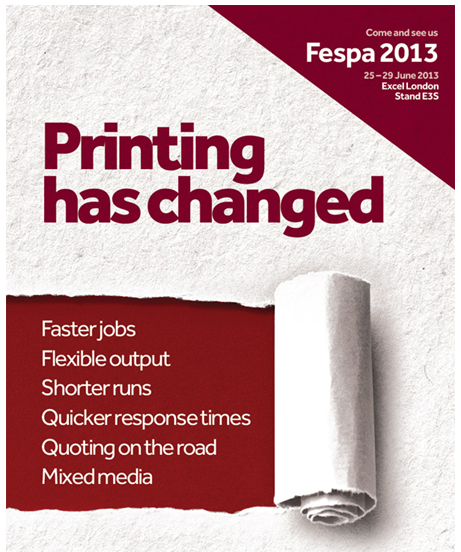 Fespa2013 advert