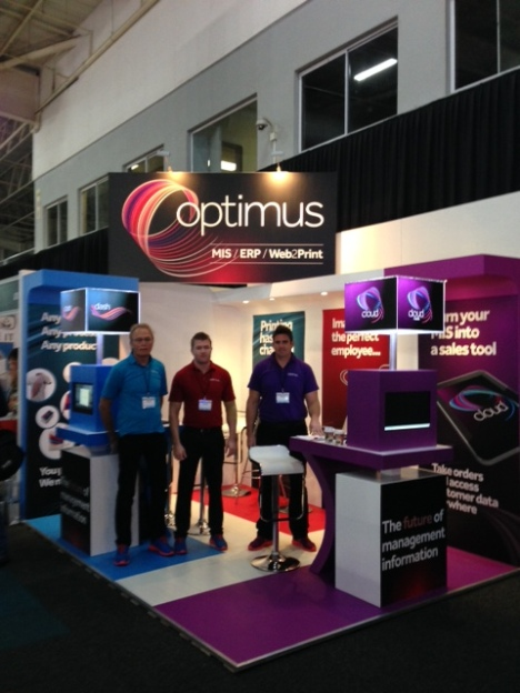 Optimus SA team ready for a busy FESPA AFRICA