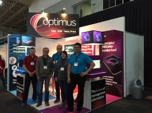 Screenline and Optimus at FESPA Africa 2015